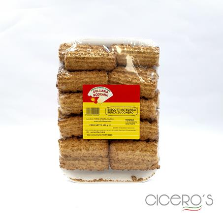 Picture of Dolciaria Sicilian Wholewheat Biscuits No Sugar (350g)