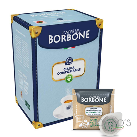 Picture of Borbone Black Blend Coffee Pods (150x7g)
