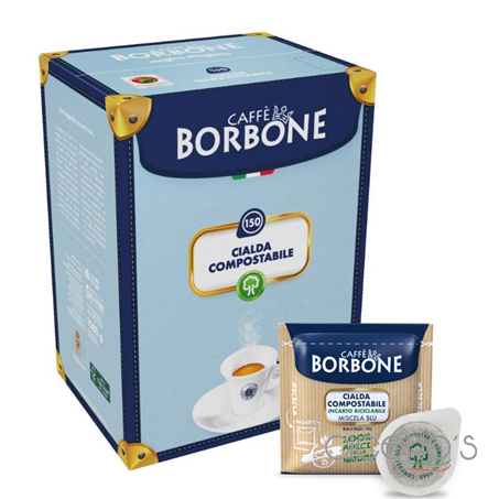 Picture of Borbone Blue Blend Coffee Pods (150x7g)