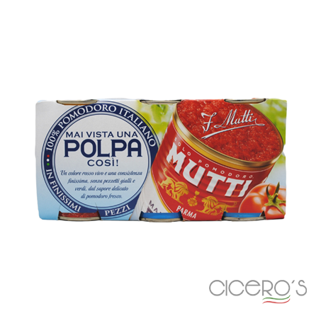 Picture of Mutti Polpa Finely Chopped Tomatoes Pack (3x400g)