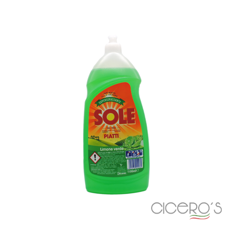 Picture of Sole Liquid Detergent For Hand Washing Plates Lime (1100Ltr)