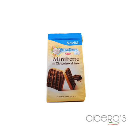 Picture of Mulino Bianco Minifette With Milk Chocolate (110g)