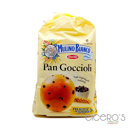 Picture of Mulino Bianco Pan Goccioli Soft Bread Cakes With Chocolate Chips (336g)